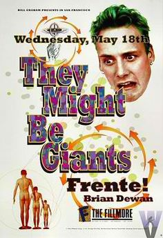 They Might Be Giants concert poster from 1994!