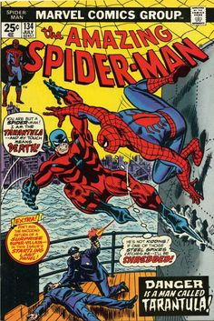 The Amazing Spider-Man # 134 with a great cover by John Romita.