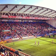 Wigan Rugby League Major Events, Rugby League, World Of Sports, My Town, Basketball Court, Soccer, Baseball Field, Cherry, England
