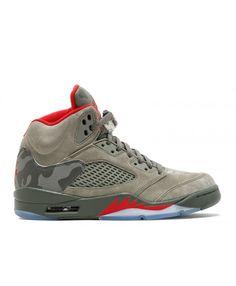 ec1354ab6b30 Nike Air Jordan 5 Retro Dark Stucco University Red Outlet Nike Air Jordan  5