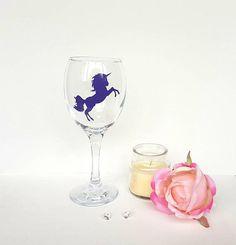 Unicorn Gifts, Unicorns, Mermaids, Gifts For Women, Wine Glass, Etsy Shop, Fantasy, Unique Jewelry, Tableware