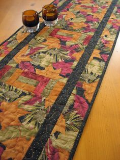 Patchwork Table Runners | Patchwork Mountain - Handmade Quilts, Table Runners, Table Toppers and ...