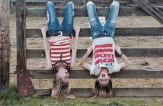 Best friend photo shoot cowgirl photo shoot