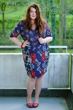 Große Größen Plus Size Fashion Blog - plus size vintage dress