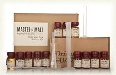 A make your own whiskey kit for those that like whiskey.....bought it for my dad for his birthday :)