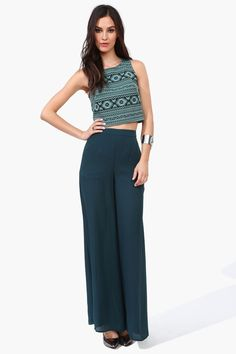 Maxine Trousers Green