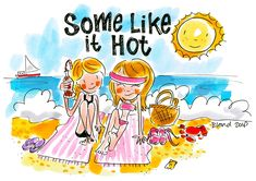 Some like it hot - Summer Blond Amsterdam