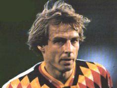 Jurgen Klinsmann; (German) Stuttgarter Kickers, VfB Stuttgart, Internazionale, Monaco, Tottenham Hotspur, Bayern Munich, Sampdoria, Orange County Blue Star