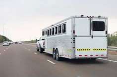 One in four drivers surveyed said they'd had a horse suffer an injury during transport. #horses #horsehealth #TheHorse #horsetrailers