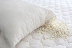 Pillows 5 lbs New Recycled Fill for Bean Bags Chicago Made in The USA by Bean Products Organic Latex Shredded Foam Pet Beds