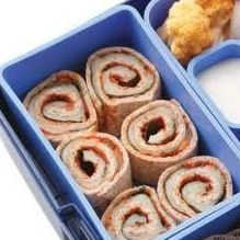 Savory Snack: Pizza or Ham & Cheese rollups.