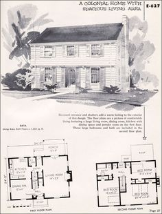 Center Hall Colonial Colonial House Plans And Colonial On