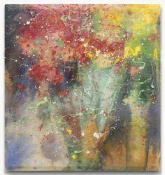 Sam Gilliam: A Little I, 1973, acrylic on canvas, 55 x 51 inches (139.7 x 129.5 cm)
