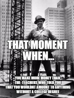 Checkout some of the funny Ironworker memes. Only Ironworkers can understand these humorous memes. These hilarious memes will surely make you laugh out loud
