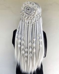 102 Beautiful Wedding Hairstyles And Bridal Hair Ideas Wedding Hairstyles For Long Hair, Pretty Hairstyles, Hair Wedding, Easy Hairstyles, Long Braided Hairstyles, Bridal Hairstyle, Winter Hairstyles, Medium Hairstyles, Viking Hair