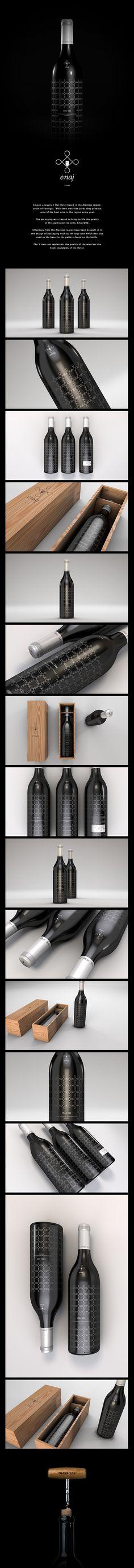 EMAJ Wine Packaging on Behance