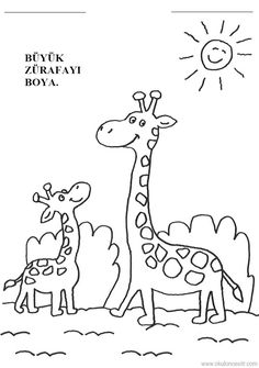 Büyük Küçük Kavramı, big and small worksheets free printables Nursery Worksheets, Free Printable Worksheets, Kindergarten Worksheets, Free Printables, Math Sheets, Activity Sheets, Animal Activities, Preschool Activities, Coloring Sheets For Kids