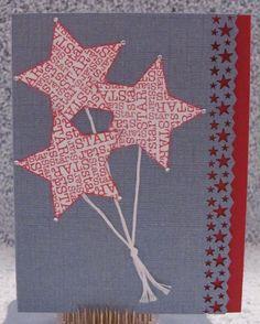 hand made cards   handmade birthday card red white and blue fun card - $5.00 - Handmade ...