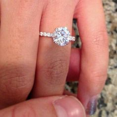 I LOVE this ring its perfect for an engagement!!