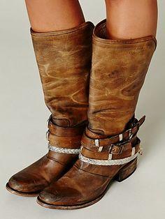 Drazen Tall Boot   tan