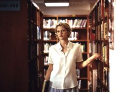 Mad Love (1995).  More love in the stacks when Drew Barrymore meets Chris O'Donnell.