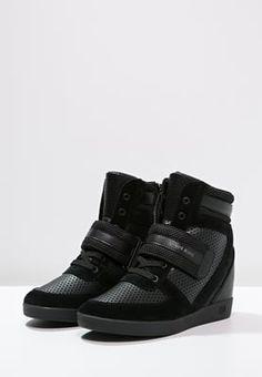 Armani Jeans Sneakers high - black til kr 1.695,00