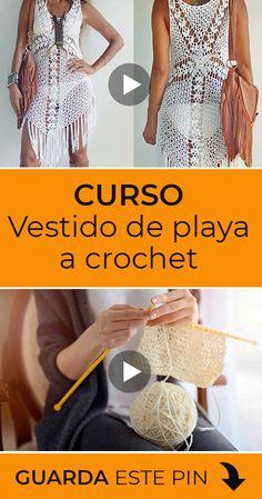 Love Crochet, Learn To Crochet, Knit Crochet, Manta Crochet, Crochet Bebe, Knitting Videos, Crochet Videos, Crochet Blouse, Crochet Bikini