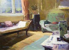 Colley Whisson   Sunday Morn, USA Oil 12'' x 16''