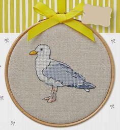 Hayvanlar Alemi: Martı - http://xstitchetc.com/hayvanlar-alemi-marti/