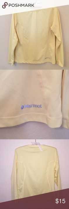 Marmot Lemon Long Sleeve Fitted long sleeve in excellent condition! Size is a M. Feel free to ask any questions! Marmot Tops