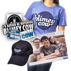 Blimey Cow Merchandise! :))- http://blimeycow.com/shop