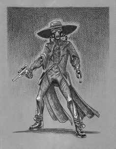 Cad Bane by Jessica Anderson [©2008-2014 PadawanLinea]