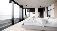 Icelandic Coastal House by Juraj Talcik and Veronica Demovicova