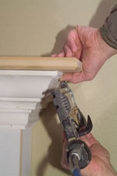 How to Build a Fireplace Mantel from Scratch – DIY Home Projects - How to Build a Fireplace Mantel from Scratch via www. Diy Fireplace Mantel, Build A Fireplace, Mantel Shelf, Fireplace Remodel, Fireplace Design, Fireplace Ideas, Mantle Ideas, How To Build A Mantle, Fireplace Makeovers