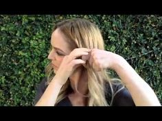 Rope Braid chignon  http://thebeautydepartment.com/2013/03/rope-braid-chignon/