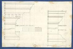 Томас Чиппендейл | Молдинги для Книжкові шафи, з Чиппендейл креслень, Vol. II | Met