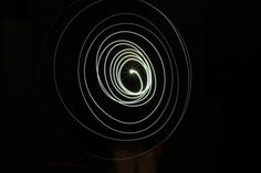 Light circles with one torchlight