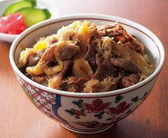 Beef rice Bowl 牛丼