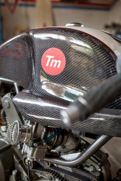 Monster 750 Endurance Racer by Tannermatic  . Matt Tanner ha lavorato per un pò di tempo con Walt Seigel ( infatti si nota la somigli...
