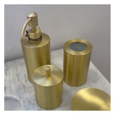 Bathroom accessories are important for your bathroom both in terms of making a style statement and for their practicality.⠀ ..⠀ Visit our showroom and add a touch of gold to glam up your bathroom with this gorgeous collection!⠀ ..⠀ Enjoy Free Shipping on most stuff. We have everythining in stock ansd special deals for professionals. DM us if you have questions!⠀ Easy Bathroom Updates, Simple Bathroom, Bathroom Accesories, Touch Of Gold, Diy Bedroom Decor, Home Decor, Interior Design Kitchen, Bathroom Inspiration, Soap Dispenser