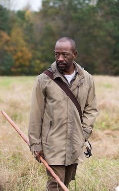 The Walking Dead Season 6 Morgan Jones (Lennie James) in Episode 15 Photo by Gene Page/AMC