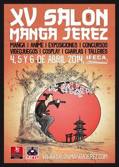 Los aficionados al manga, anime, videojuegos y cosplay ya tiene una cita ineludible con el XV Salón Manga de Jerez., que se celebrará los días 4, 5 y 6 de abril de 2014 dentro de las instalaciones de IFECA (Institución Ferial de Cádiz), en Jerez de la Frontera.
