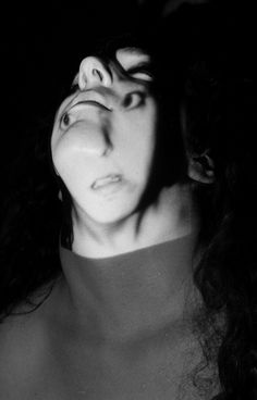 projection series; faces by Hannah Gottschalk, via Behance