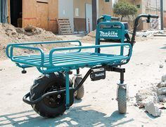 Makita's 18V Power-Assist Dolly Works Smarter & Harder