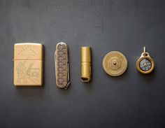 Compact all-brass carry that is full of character and chutzpah.