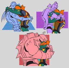 Ninja Turtles Art, Teenage Mutant Ninja Turtles, Tmnt Swag, Turtle Tots, Leonardo Tmnt, Tmnt Comics, Cartoon Crossovers, Anime Fnaf, Fan Art
