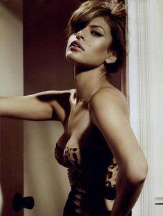 Eva Mendes by Michael Thompson