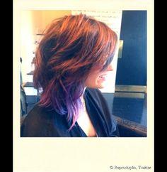 corte curto - Demi Lovato