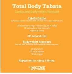 Tabata Cardio and Conditioning. This mini workout kicked my arse.