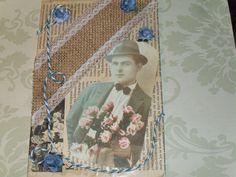 Syntymäpäiväkortti  90 v. miehelle.